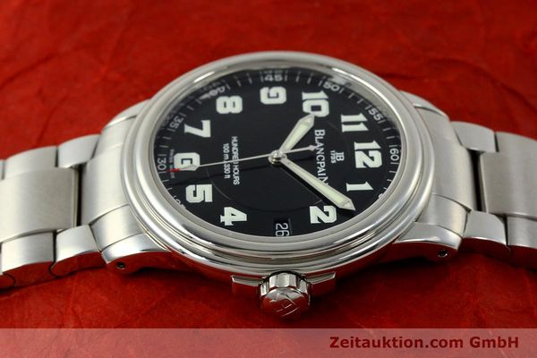 Used luxury watch Blancpain Leman steel automatic Kal. 1151 Ref. 2100-1130M  | 151123 05