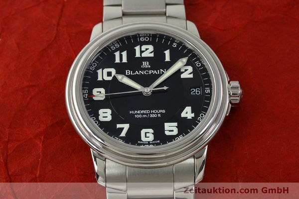 Used luxury watch Blancpain Leman steel automatic Kal. 1151 Ref. 2100-1130M  | 151123 15
