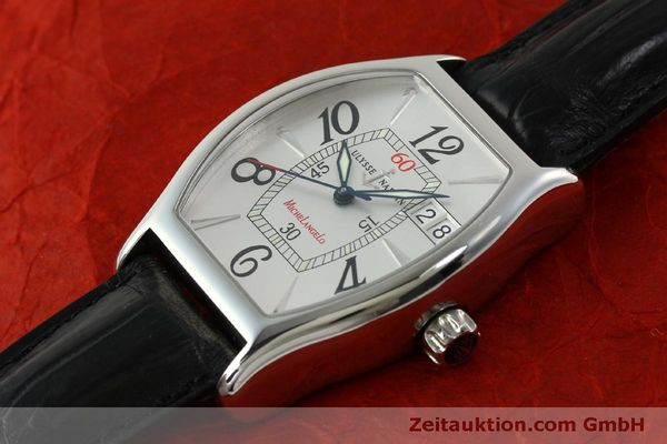 Used luxury watch Ulysse Nardin Michelangelo steel automatic Kal. ETA 2892A2 Ref. 233-68  | 151128 01