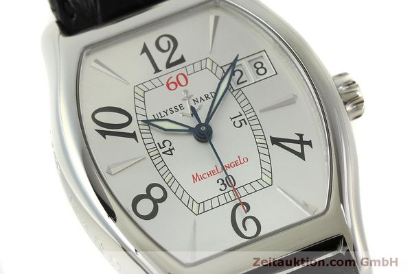 Used luxury watch Ulysse Nardin Michelangelo steel automatic Kal. ETA 2892A2 Ref. 233-68  | 151128 02