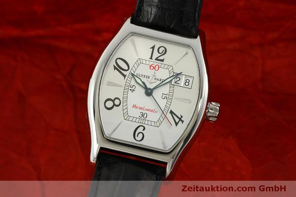Used luxury watch Ulysse Nardin Michelangelo steel automatic Kal. ETA 2892A2 Ref. 233-68  | 151128 04