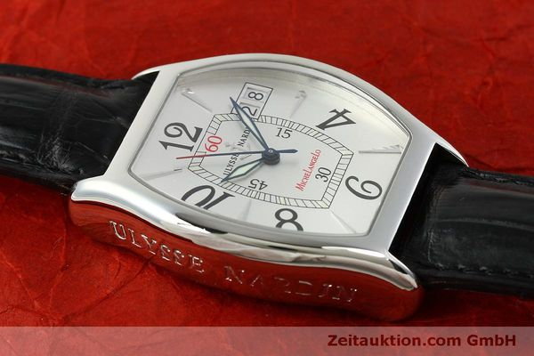 Used luxury watch Ulysse Nardin Michelangelo steel automatic Kal. ETA 2892A2 Ref. 233-68  | 151128 16