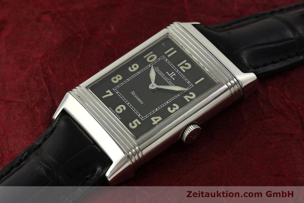 Used luxury watch Jaeger Le Coultre Reverso steel manual winding Kal. 822 Ref. 271.8.61  | 151135 01