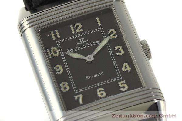 Used luxury watch Jaeger Le Coultre Reverso steel manual winding Kal. 822 Ref. 271.8.61  | 151135 02
