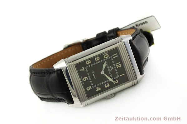 Used luxury watch Jaeger Le Coultre Reverso steel manual winding Kal. 822 Ref. 271.8.61  | 151135 03