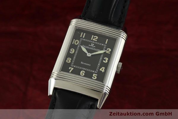 Used luxury watch Jaeger Le Coultre Reverso steel manual winding Kal. 822 Ref. 271.8.61  | 151135 04