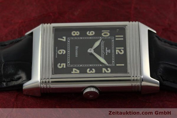 Used luxury watch Jaeger Le Coultre Reverso steel manual winding Kal. 822 Ref. 271.8.61  | 151135 05