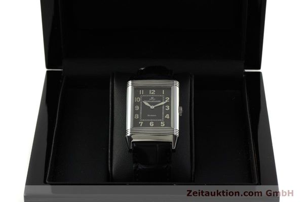 Used luxury watch Jaeger Le Coultre Reverso steel manual winding Kal. 822 Ref. 271.8.61  | 151135 07