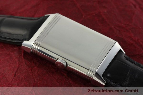 Used luxury watch Jaeger Le Coultre Reverso steel manual winding Kal. 822 Ref. 271.8.61  | 151135 13