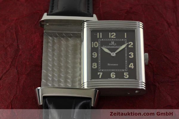 Used luxury watch Jaeger Le Coultre Reverso steel manual winding Kal. 822 Ref. 271.8.61  | 151135 14