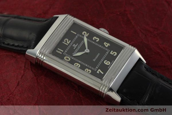 Used luxury watch Jaeger Le Coultre Reverso steel manual winding Kal. 822 Ref. 271.8.61  | 151135 15