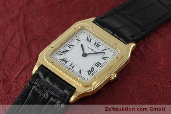 Used luxury watch Cartier Panthere 18 ct gold manual winding Kal. 21  | 151136 01