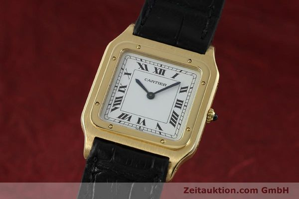 Used luxury watch Cartier Panthere 18 ct gold manual winding Kal. 21  | 151136 04