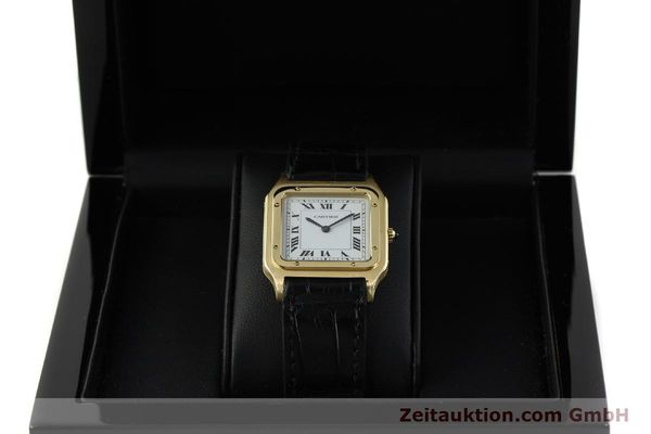 Used luxury watch Cartier Panthere 18 ct gold manual winding Kal. 21  | 151136 07