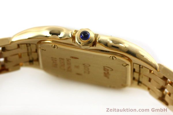 Used luxury watch Cartier Panthere 18 ct gold quartz Kal. 187  | 151137 08