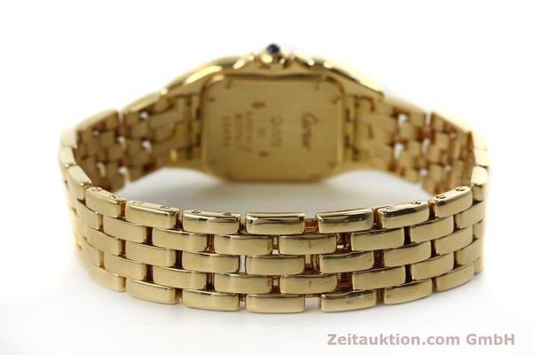 gebrauchte Luxusuhr Cartier Panthere 18k Gold Quarz Kal. 187  | 151137 10