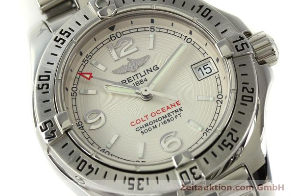Used luxury watch Breitling Colt Oceane steel quartz Kal. B77 ETA 955452 Ref. A77380  | 151139 02