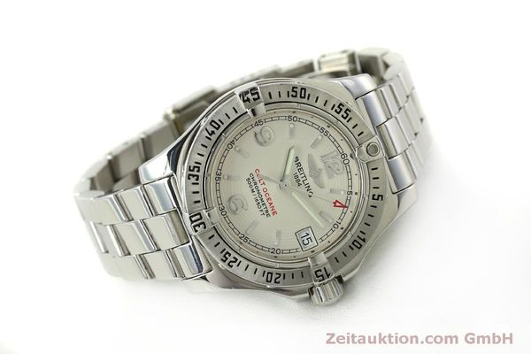Used luxury watch Breitling Colt Oceane steel quartz Kal. B77 ETA 955452 Ref. A77380  | 151139 03