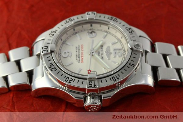 Used luxury watch Breitling Colt Oceane steel quartz Kal. B77 ETA 955452 Ref. A77380  | 151139 05