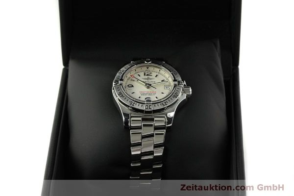 Used luxury watch Breitling Colt Oceane steel quartz Kal. B77 ETA 955452 Ref. A77380  | 151139 07