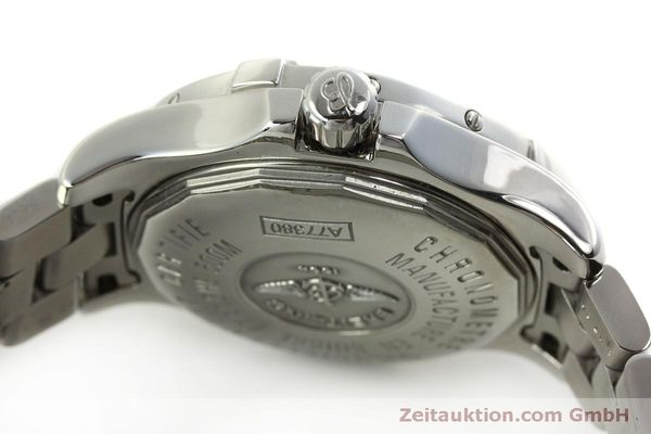 Used luxury watch Breitling Colt Oceane steel quartz Kal. B77 ETA 955452 Ref. A77380  | 151139 08