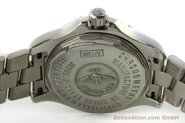 Used luxury watch Breitling Colt Oceane steel quartz Kal. B77 ETA 955452 Ref. A77380  | 151139 09