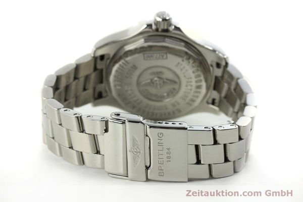 Used luxury watch Breitling Colt Oceane steel quartz Kal. B77 ETA 955452 Ref. A77380  | 151139 10