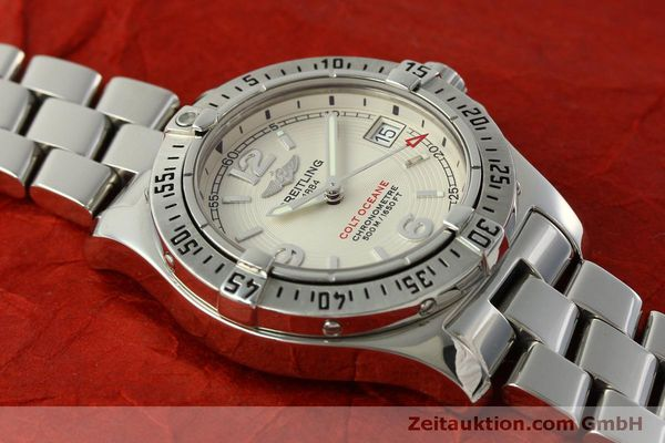 Used luxury watch Breitling Colt Oceane steel quartz Kal. B77 ETA 955452 Ref. A77380  | 151139 13