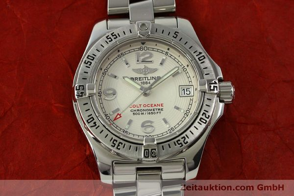 Used luxury watch Breitling Colt Oceane steel quartz Kal. B77 ETA 955452 Ref. A77380  | 151139 14