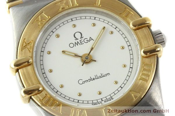 montre de luxe d occasion Omega Constellation acier / or  quartz Kal. ETA 976.001 Ref. 1455-13702000  | 151142 02