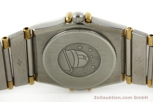 montre de luxe d occasion Omega Constellation acier / or  quartz Kal. ETA 976.001 Ref. 1455-13702000  | 151142 09