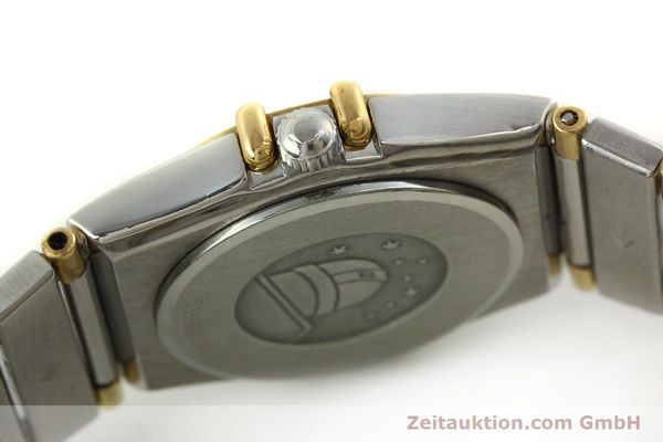 montre de luxe d occasion Omega Constellation acier / or  quartz Kal. ETA 976.001 Ref. 1455-13702000  | 151142 11