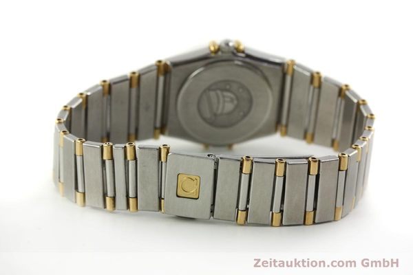 montre de luxe d occasion Omega Constellation acier / or  quartz Kal. ETA 976.001 Ref. 1455-13702000  | 151142 12