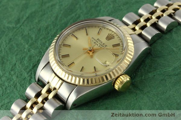 Used luxury watch Rolex Lady Date steel / gold automatic Kal. 2030 Ref. 6917  | 151144 01