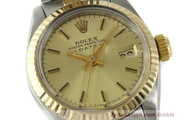 Used luxury watch Rolex Lady Date steel / gold automatic Kal. 2030 Ref. 6917  | 151144 02