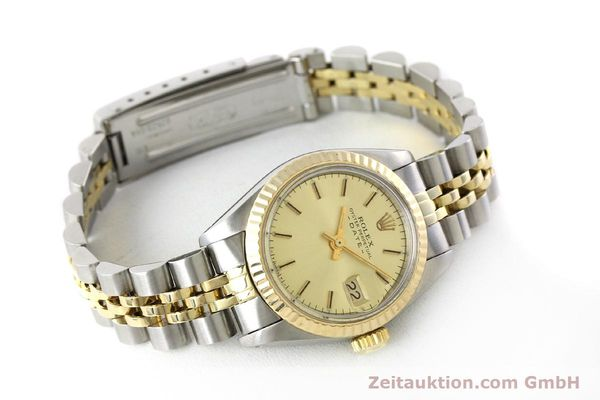 Used luxury watch Rolex Lady Date steel / gold automatic Kal. 2030 Ref. 6917  | 151144 03
