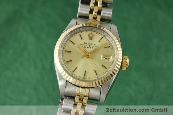 Used luxury watch Rolex Lady Date steel / gold automatic Kal. 2030 Ref. 6917  | 151144 04