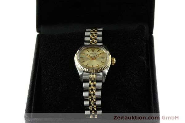 Used luxury watch Rolex Lady Date steel / gold automatic Kal. 2030 Ref. 6917  | 151144 07
