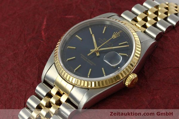 Used luxury watch Rolex Datejust steel / gold automatic Kal. 3135 Ref. 16233  | 151145 01