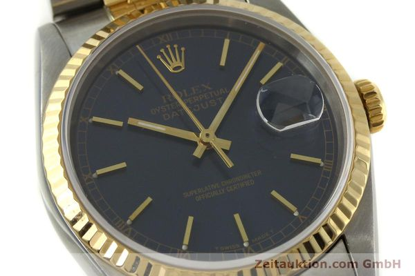 Used luxury watch Rolex Datejust steel / gold automatic Kal. 3135 Ref. 16233  | 151145 02