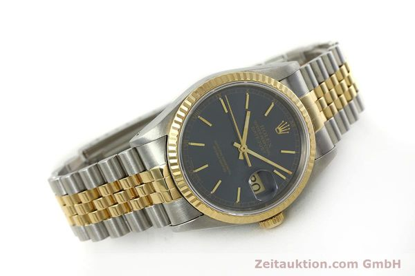 Used luxury watch Rolex Datejust steel / gold automatic Kal. 3135 Ref. 16233  | 151145 03