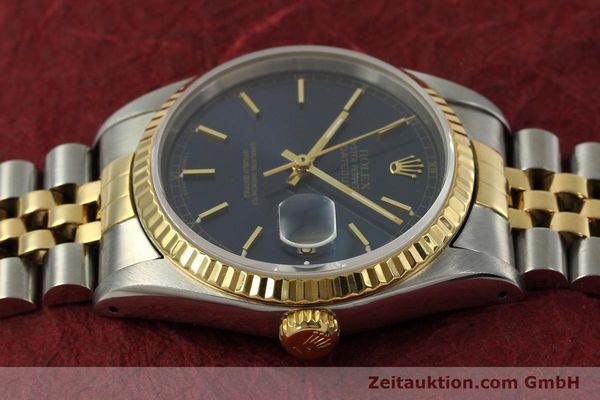 Used luxury watch Rolex Datejust steel / gold automatic Kal. 3135 Ref. 16233  | 151145 05