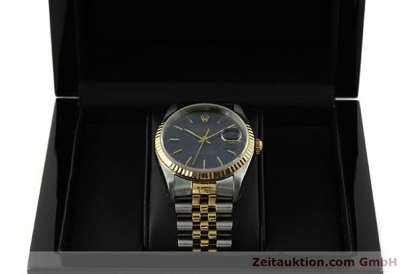 Used luxury watch Rolex Datejust steel / gold automatic Kal. 3135 Ref. 16233  | 151145 07