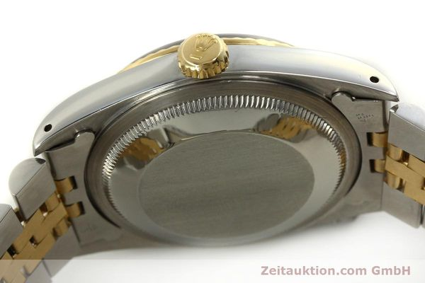 Used luxury watch Rolex Datejust steel / gold automatic Kal. 3135 Ref. 16233  | 151145 11