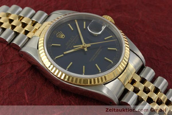 Used luxury watch Rolex Datejust steel / gold automatic Kal. 3135 Ref. 16233  | 151145 14