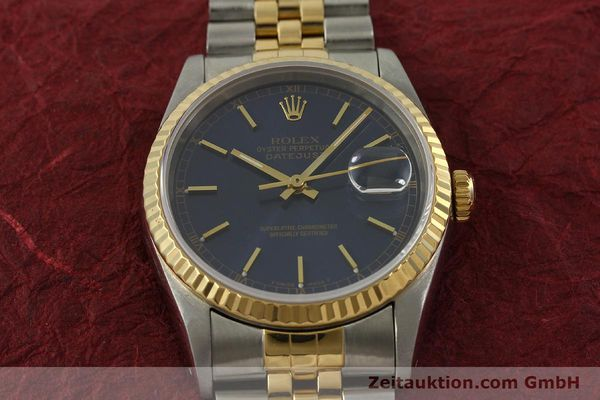 Used luxury watch Rolex Datejust steel / gold automatic Kal. 3135 Ref. 16233  | 151145 15