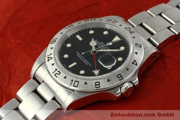 Used luxury watch Rolex Explorer II steel automatic Kal. 3185 Ref. 16570  | 151150 01