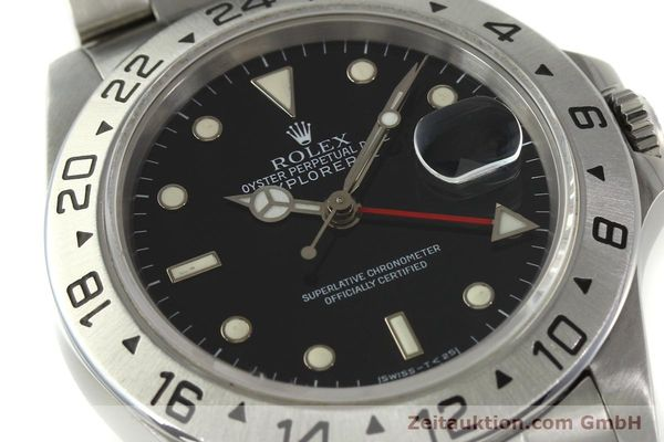 Used luxury watch Rolex Explorer II steel automatic Kal. 3185 Ref. 16570  | 151150 02