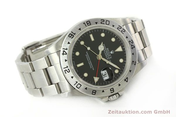 Used luxury watch Rolex Explorer II steel automatic Kal. 3185 Ref. 16570  | 151150 04