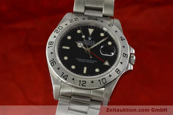 Used luxury watch Rolex Explorer II steel automatic Kal. 3185 Ref. 16570  | 151150 05